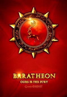 Game of Thrones Icon Baratheon by jjfwh.deviantart.com on @deviantART