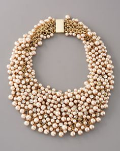 Pearls ~ Neiman  Marcus | More bling here: http://mylusciouslife.com/photo-galleries/bling-fling/