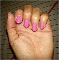 Pink nails....