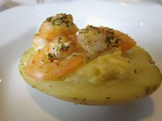 Shrimp Stuffed Baked Potatoes