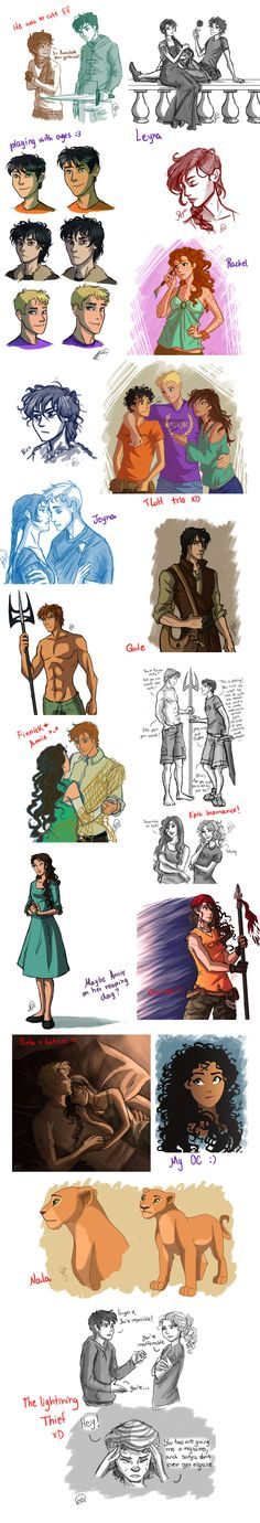 One More Dump... by juliajm15.deviantart.com on @deviantART I only pinned this for the PJatO refs.