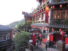 千と千尋の神隠しのモデルになったお茶屋さん。これが見たくて台湾来た!感動!素敵!かわいい!