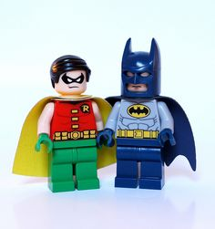 Batman & Robin #flickr #LEGO #minifigures