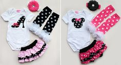 Newborn Infant Baby Girl Headband+Romper+Leg Warmers+Shorts Pants Outfit Clothes #DressyEverydayHoliday