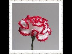 Carnation Flower Pattern Crochet Tutorial 77 How to Crochet Tube Cord - YouTube