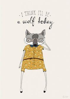 Art print quote poster wolf illustration girl and от agrapedesign Wolf Illustration, Graphic Illustration, She Wolf, Art Prints Quotes, Illustrations Posters, Design Art, Artsy, Drawings, Artwork