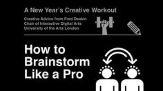 Kickstart your projects with Fred Deakin's favourite techniques for getting the creative juices flowing. http://www.creativebloq.com/design/7-ways-brainstorm-creative-pro-11618687
