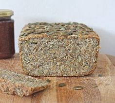 Almond, quinoa & sunflower seed bread (gluten free)