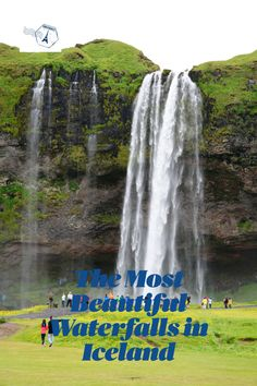 Selected are the most beautiful waterfalls in Iceland. Description, location and how the waterfalls look. A trip all over Iceland. Iceland Travel Tips, Europe Travel Guide, Europe Destinations, Travel Guides, Iceland Waterfalls, Beautiful Waterfalls, Travel Maps, Travel Aesthetic, Island Life