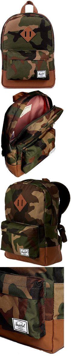 Bags 57748: Zaino Bambino Herschel Backpack Kids Boy S Heritage L7.5 Camouflage -> BUY IT NOW ONLY: $51.99 on eBay!