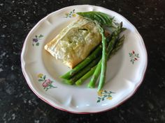 Salmon with Pesto wrapped in Filo