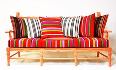 ahhh, but this is the one.  LOVE AND WANT WANT!!!  nameesignstudio's Coral Wood Bench w/Arms