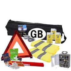 10 piece european travel kit #legal recommended euro #items driving in #france,  View more on the LINK: http://www.zeppy.io/product/gb/2/262108381527/