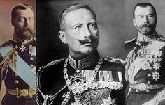 بالحرب العالمية١ كان ملوك بريطانيا وروسيا وألمانيا أبناء خالة! ملك ألمانيا ساخرا: لو كانت جدتي حية ماسمحت بهذه الحرب