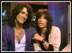 I'M BEING CUTSIED TO DEATH ... <3  JOE PERRY AND STEVEN TYLER A/K/A THE TOXIC TWINS  FACEBOOK/TOTALLY TYLER