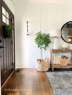 How to create a modern sconce with easy tweaks Rustic Wall Sconces, Modern Sconces, Candle Sconces, Black Candles, White Walls, Decorating Your Home, Something To Do, Lanterns, Candle Holders