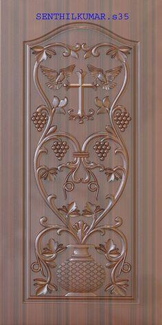 Main Entrance Door Design, Wooden Front Door Design, Door Gate Design, Wooden Doors, Pooja Room Door Design, Bedroom Door Design, Door Design Interior, Latest Door Designs, Door Design Photos