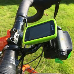 K-edge combo mount with Garmin Edge 520 and Led Lenser front light