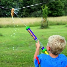 3 Games to Play with Water Blasters | Fireflies and Mud Pies