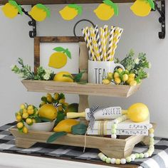 129 Best Lemon Decor Images In 2019 Kitchen Themes