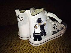 Michael Jackson HiTops  size 4 Big Kids by JALIsPlace on Etsy, $55.00