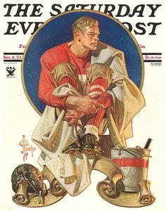 The Saturday Evening Post cover, 1933 // by J.C. Leyendecker