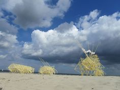 Strandbeests - Wind-powered Animal-Machines from Theo Jansen