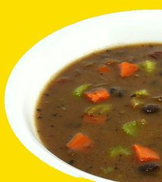 Mexican Black Bean and Vegetable Soup - Blue Monday