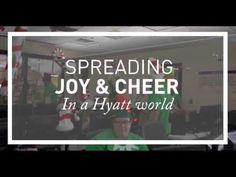 """Hyatt / """"Spreading Joy and Cheer in a Hyatt World"""" - 2014"""