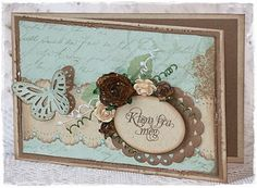 Very soft and pretty Card