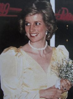 1985-03-04 Diana at the Premiere Of '2010' at the Empire Cinema in Leicester Square, in aid of the Prince's Trust