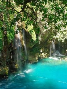 Amazing Waterfalls Around The World -1 - Puente de Dios Waterfalls in , Mexico