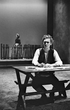 Tom Hiddleston | John Clare in The Fool by the Royal Academy of Dramatic Art in London, UK (2005)