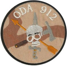 Special Forces Pocket Patch 19th SFG(A) ODA 912 desert camo Cool Stuff, Us Army Patches, Warrior Spirit, Desert Camo, Green Beret, Morale Patch, Patch Design, Special Forces, Airsoft