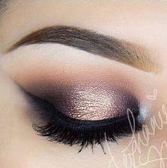 Maquillaje paso a paso para ojos marrones y negros ~ cositasconmesh