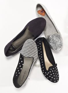 Tuxedo flats are the new ballet flat for Fall! Read more on our blog, Footnotes. #myvictory