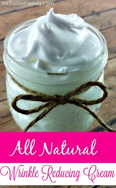Crows Feet Be Gone! This All Natural Wrinkle Relaxing Cream banishes them without harsh chemicals! Awesome gift idea too!