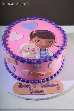 Doc Mcstuffins Cake Decorating Kit : doc mcstuffins birthday cake - can get the small figurines in the DMS kit at Target Morgan ...