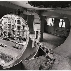 Matta-Clark: Building cut-outs, NYC