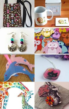 All creatures great and small   by Kerry Cornell on Etsy--Pinned with TreasuryPin.com