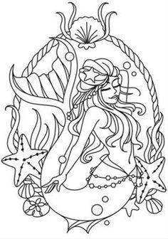 Mermaid Cameo_image