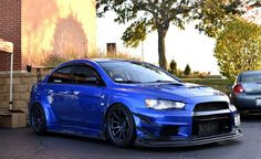 Mean looking Evo!