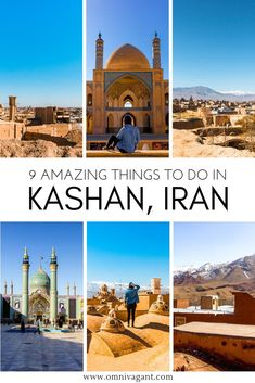Traveling to Iran is an adventure on its own, from exploring Iran's nature to the stunning cities of Middle East Destinations, Travel Destinations, Travel Tips, Iran Travel, Asia Travel, Architecture Design, Beautiful Mosques, Exploration, Luxor Egypt