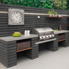 Fantastic Free of Charge outdoor kitchen black Thoughts Backyard kitchen design is highly profitable within your house layout industry. As outlined by a study made in. Outdoor Bbq Kitchen, Backyard Kitchen, Outdoor Kitchen Design, Backyard Bbq, Kitchen Decor, Outdoor Kitchens, Kitchen Ideas, Big Green Egg Outdoor Kitchen, Outdoor Garden Sink