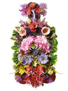 Flower Flacons for Sephora.