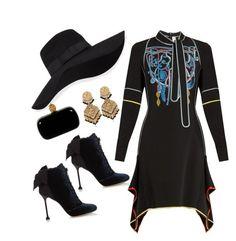 Designer Clothes, Shoes & Bags for Women Peter Pilotto, Miu Miu, San Diego, Alexander Mcqueen, Velvet, Hat, Autumn, Shoe Bag, Polyvore