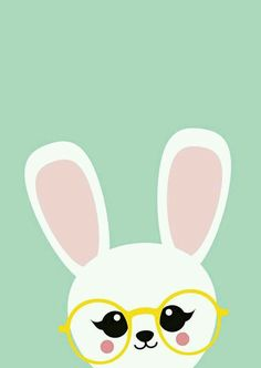 Conejito con lentes