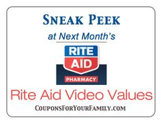 Get a free 50 tops gift card with a new buffalo news coupon code sneak peek at the march 2015 rite aid video values coupons fandeluxe Choice Image