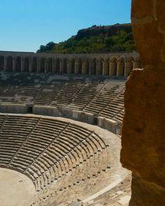Aspendos Antik Tiyatrosu / Aspendos Ancient Theater - Antalya / Turkey
