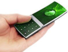 """Nokia's aeon """"full surface screen"""" cellphone concept"""